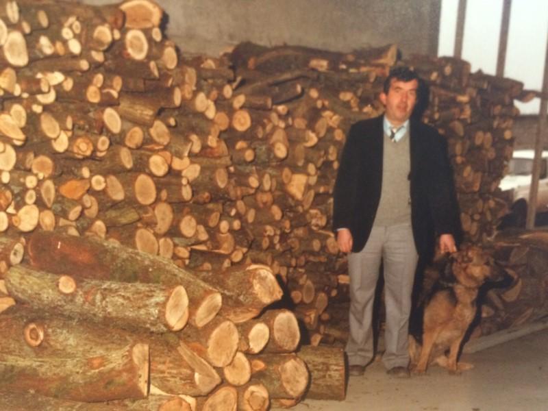 Bernard Thiébaut commercialisait déjà du bois dans les années 1970 !